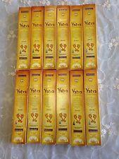 Aussie Stock 12 of Yatra Incense Sticks 17G 2017 Fresh Sale