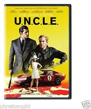 THE MAN FROM U.N.C.L.E. UNCLE (2015) DVD NEW - GUY RITCHIE