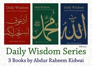 Daily Wisdom Series *Full Set* Muslim Islamic Books Inspiration Kidwai