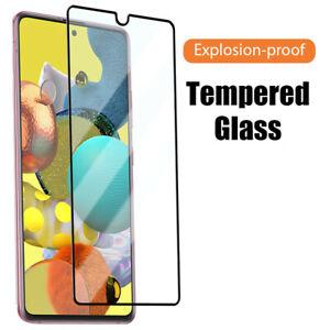 Full Glue Tempered Glass For Samsung Galaxy S20 FE A72 A31 A71 A11 A21S A02S A42