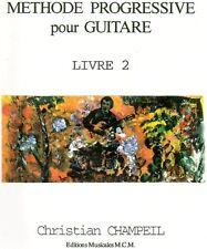 Méthode progressive pour guitare livre 2
