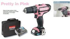 Pretty i. Pink  Makita Schlagbohrschrauber HP331DSAP1 12 Volt 1x 2,0 Ah Akku