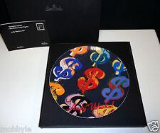 "Rosenthal Andy Warhol "" Wandteller Dollar Signs ""  24 cm Neu & Ovp 1.Wahl"