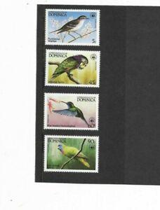 Bird Set - Commonwealth of Dominica - MM