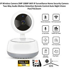 CCTV Wifi Wireless IP Camera1080p 2MP Day Night Motion Baby/Pet/Elders/Nanny Cam