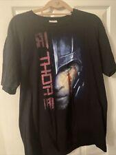 Thor Ragnarock Movie T Shirt XL Extra Large Black Bluray Avengers