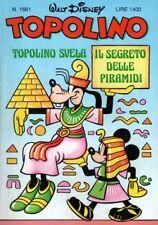 Disney TOPOLINO Nr. 1661 - Ed. MONDADORI