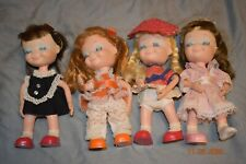 "1967 Uneeda 9"" Dolls, Little Sophisticates Rosanna, Kristina, Georgiana, Suzanna"