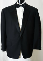 Hickey Freeman Tuxedo W/Studs Tie Cufflinks and more 40R Super 130's