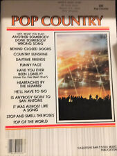 Casio Casiotone Bar Coded Music Book Pop Country 12 Songs Keyboard