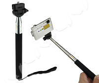 Miniature Camera Telescopic Extension Pole Monopod For GoPro Camcorder 1/4