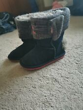 Girls Next  Warm Fur Boots Size 7