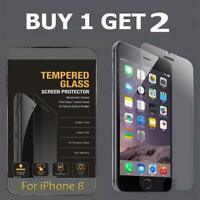 For Apple iPhone 8 Tempered Glass Screen Protector iPhone 8 CRYSTAL CLEAR GLASS