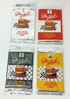 Dale Earnhardt #3 Burger King Racking Metal Collector Cards #1-4 Sealed READ