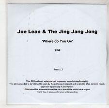 (GS107) Joe Lean & The Jing Jang Jong, Where Do You Go - DJ CD