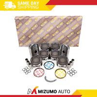 Full Gasket Set Pistons Bearings Fit 03-09 Toyota 4Runner Tacoma 4.0L DOHC 1GRFE