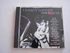CD DE GENE VINCENT , THE WILD CAT 20 TITRES . 1994 . BON ETAT .