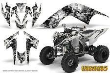 YAMAHA RAPTOR 700 GRAPHICS KIT DECALS STICKERS CREATORX INFERNO WHITE