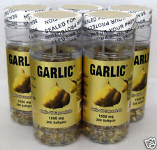 5x Garlic Oil, 3mg(1500:1), 1500 Capsules Free shipping