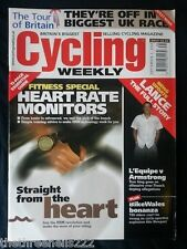 CYCLING WEEKLY - HEART RATE MONITORS - SEPT 3 2005