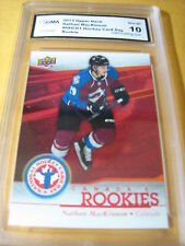 NATHAN MACKINNON 2013 UPPER DECK NATIONAL HOCKEY CARD DAY NHCD1 RC GRADED 10