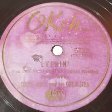 Count Basie And His Orchestra* – Evenin' / Moten Swing (Okeh 5732) Record Jazz