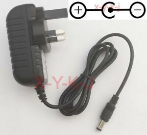 AC/DC 18V 1A Switching Power Supply adapter Reverse Polarity Negative Inside UK