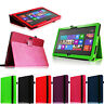 """For Microsoft Surface 2 Surface RT 10.6"""" PU Leather Case Folio Standing Cover"""