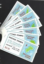 St. Vincent and Grenadines. 18 complete booklets, 1975 to 1981, un-used.