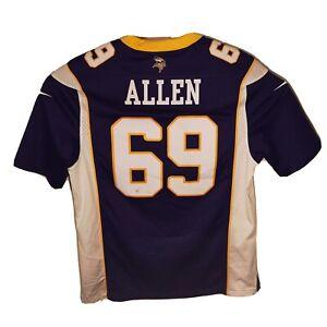 Nike NFL Minnesota Vikings Jared Allen #69 Purple Football Jersey Size Medium