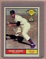 Ernie Banks '54 Chicago Cubs Rookie Stars series #12 by Monarch Corona