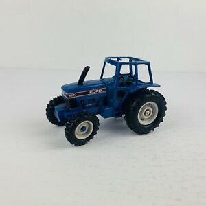 Ertl Ford 8630 4wd Tractor Diecast 1/32 Blue pre owned