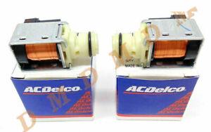 2X ACDelco GM Original Shift Solenoid for Chevy GMC 24230298 4L60E 4L65E