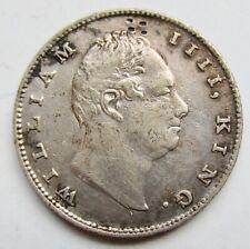 British India 1835 Rupee William IV Calcutta Mint