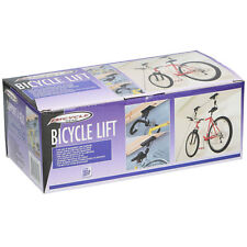 Bicyle Lift Bike Ceiling Mount Hoist Garage Storage Display Pulley Hanger Rack