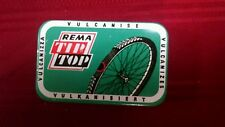 Vtg Bike Tube Patch Bicycle Repair Kit Remaco Rema Tip Top No. 22 West Germany