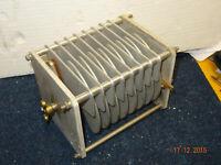 QRO Drehkondensator 5kV AIR VARIABLE CAPACITOR ca. 23-420pF. Pi-filter capacitor
