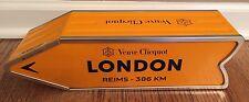 Veuve Clicquot Arrow Tin LONDON Reims Champagne Journey Arrow Street Sign