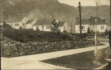 Grand Coulee Dam Area Engineer's Town Homes Real Photo Postcard