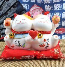 Feng Shui Maneki Neko Lucky Cat Coin Bank for Wealth PIGGY BANK