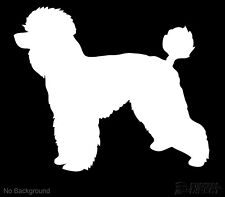 Poodle Dog Decal Canine Sticker Quality Vinyl Any Colour Buy 2 Get 1 Free