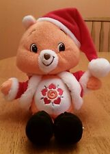 Christmas Care Bear Plush Amigo Bear in Santa Hat Coat Special Edition Holiday