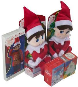 New LOT Of 5 CHRISTMAS ITEMS Elf On The Shelf Tiny Tinsel Tree Charlie Brown NIB