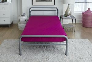 Memory Foam Mattress Comfort Polyester Quilted Bed Tight Sleep 6 Inch Twin Full