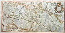 SCHWEIZ FRANKREICH DEUTSCHLAND ALSATIA LANDGRAVIATUS BREISGAU ELSASS BLAEU 1640