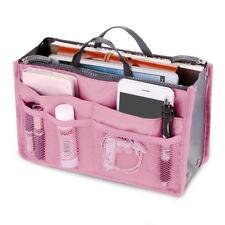 1/2pcs Bag Insert Organiser Handbag Women Travel Makeup Purse Wallet Pouch AU Pink 1pc