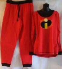 Disney Store Incredibles Men Ladies pajama set XL 1XL