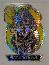 1993 Storm Marvel Masterpieces Prism Die-cut Sticker Vending Machine Unlicensed
