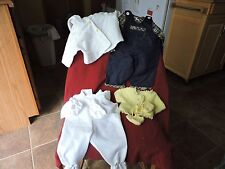 HAND MADE DOLL CLOTHES--4 ITEMS ONE MONEY