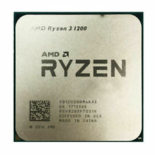 AMD Ryzen 3 1200 R3 1200 CPU Quad-Core 3.1GHz 8M Socket AM4 65W Processor